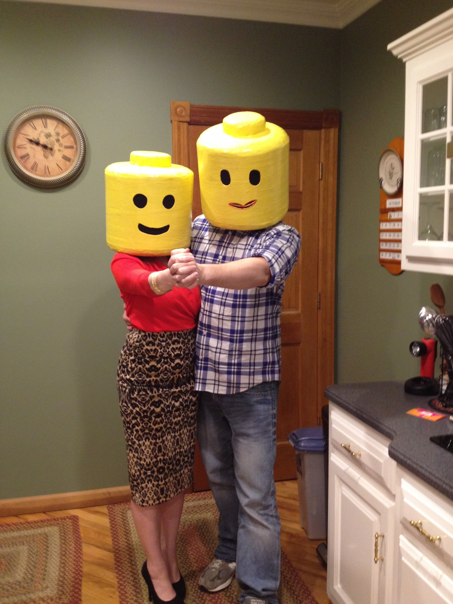 Diy lego man and woman costume love and olives img04051 solutioingenieria Gallery